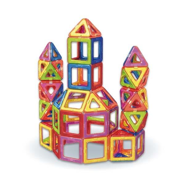3歳~★知育玩具 マグブロック【MB03 デラックスセット(96ピース))】TKクリエイト