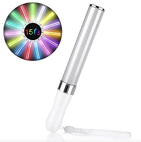 値下げ レビューを書いてもう1本 LEDペンライト 15色カラーチェンジ コンサートライト ライブ 売却 イベント パーティー ストラップ付き