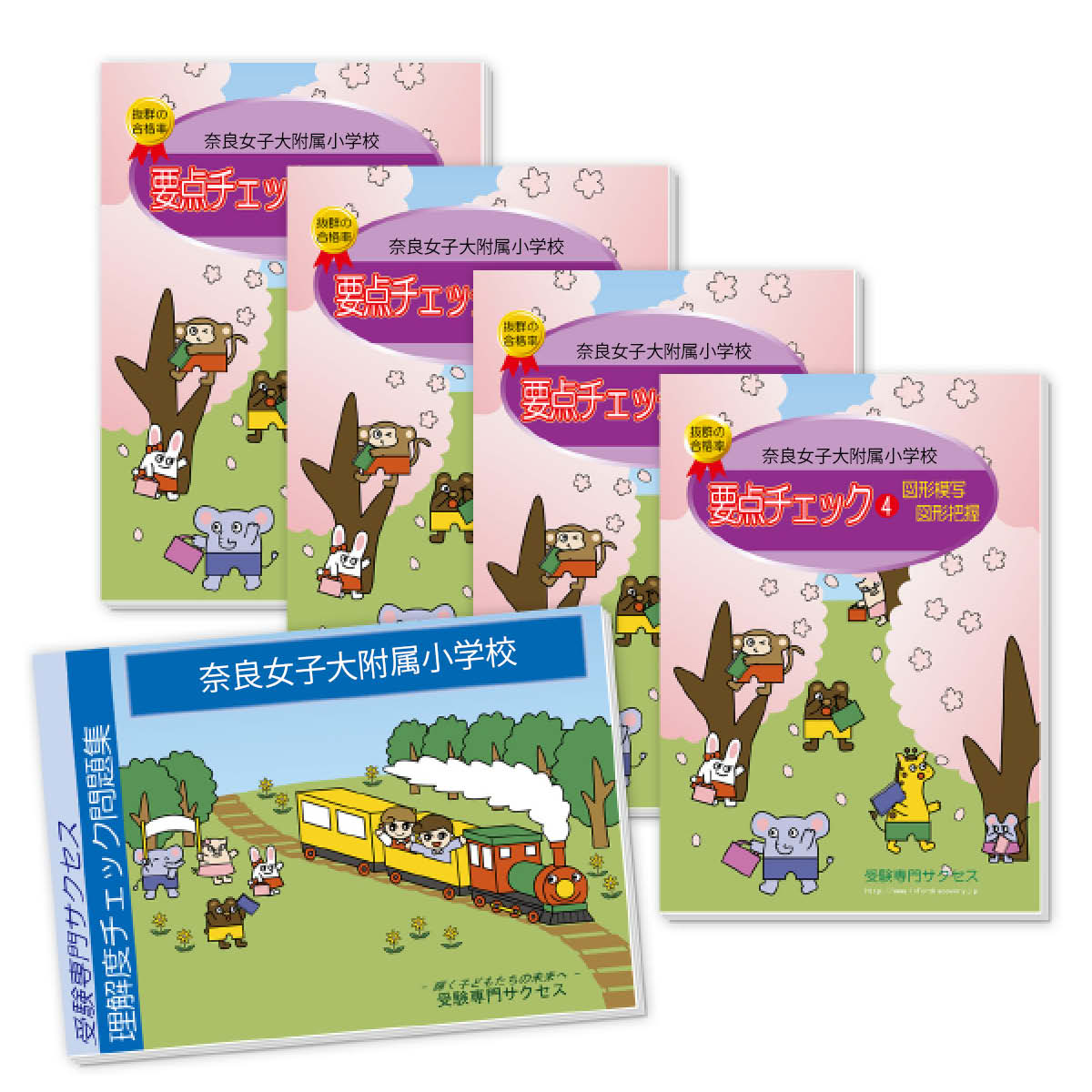 【送料・代引手数料無料】奈良女子大附属小学校・分野別要点チェック問題集