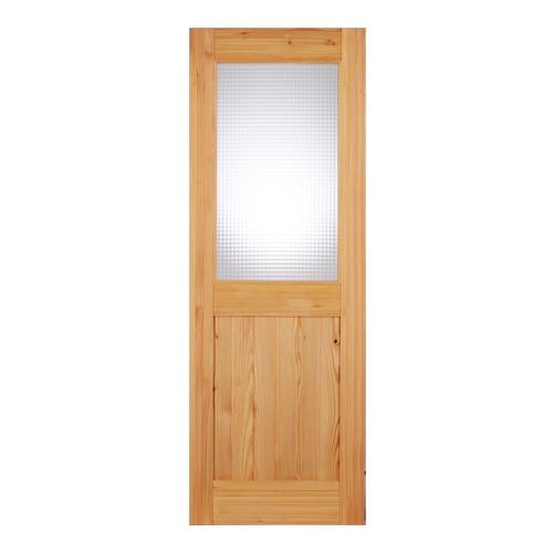 LOHAS material 無垢建具 室内ドア スタンダードシリーズ SD08 パイン 無塗装 扉 自然素材 木製 突き板 戸 特注 インテリア