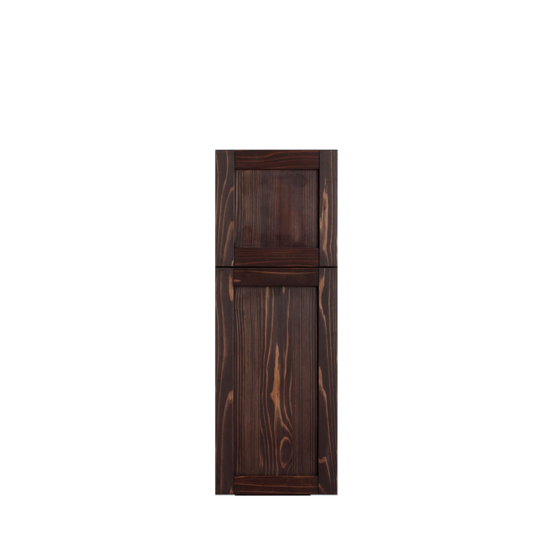 LOHAS material 無垢建具 室内 壁面収納 TH07 パイン 壁 自然素材 木製 収納 小物 洗面 特注 扉 埋め込み