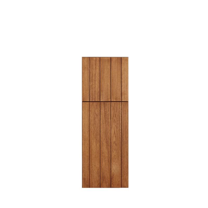 LOHAS material 無垢建具 室内 壁面収納 MH07 パイン 壁 自然素材 木製 収納 小物 洗面 特注 扉 埋め込み