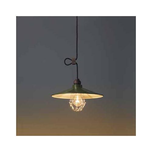 後藤照明 屋内照明 ペンダントライト Verde Series パルマ アルミP1Lガード・CP型GR GLF-3345