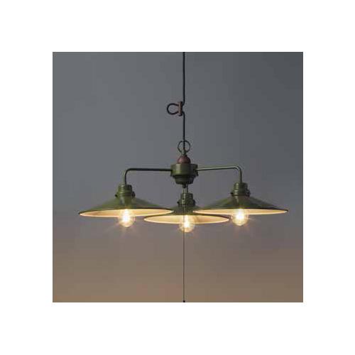 後藤照明 屋内照明 ペンダントライト Verde Series パレルモ アルミP1L・3灯用CP型GR GLF-3331