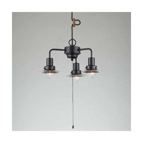 照明器具 後藤照明 ペンダントライト Monte Luce Series モンブラン アルミP1S生地・3灯用CP型BK GLF-3458 送料無料