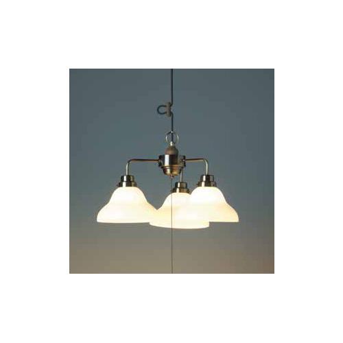 後藤照明 屋内照明 ペンダントライト Aries(アリエス) ベルリヤ・3灯用CP型BR GLF-3352