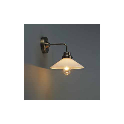 後藤照明 屋内照明 ブラケットライト(直付) Capricorn(カプリコーン) 乳白P1・BK型BR GLF-3370