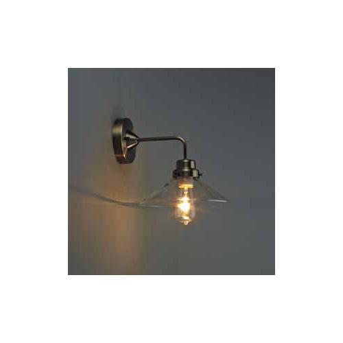 後藤照明 屋内照明 ブラケットライト(直付) Virgo(バルゴ) 透明P1・BK型BR GLF-3378