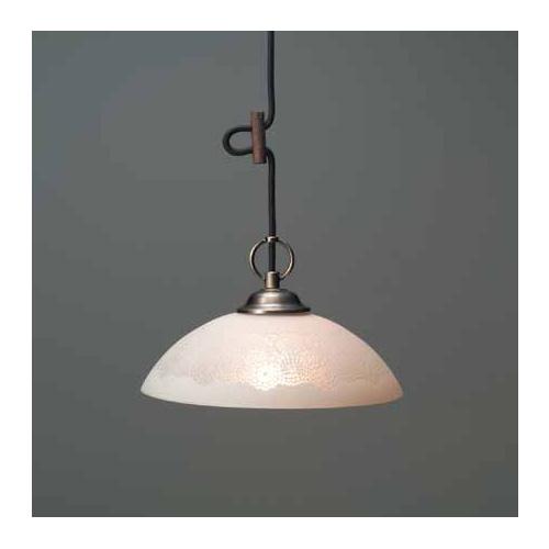 照明器具 後藤 屋内 ペンダントライト アンティークレースセード ジェーン アンティークレース・CP型BR GLF-3385 送料無料