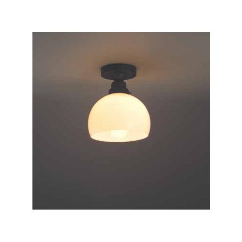 照明器具 後藤 屋内 シーリングライト 直付 鉄鉢硝子セード・CL型BK GLF-3258 送料無料