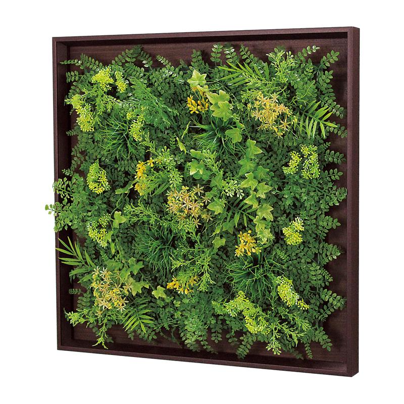 ベルク インテリアパネル グリーンパネル 連接グリーン GR1005 60角 室内 壁 インテリア おしゃれ 送料無料 緑 植物