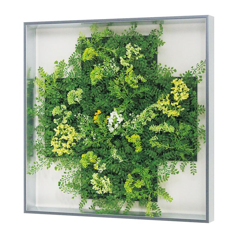 ベルク インテリアパネル グリーンパネル 連接グリーン GR1015 60角 室内 壁 インテリア おしゃれ 送料無料 緑 植物