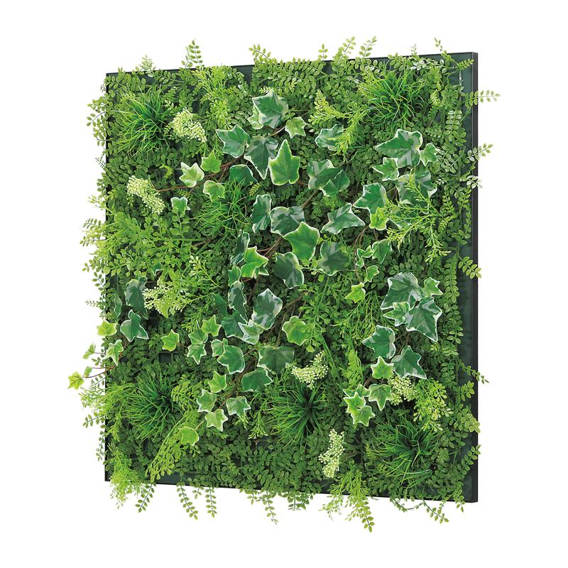 ベルク インテリアパネル グリーンパネル 連接グリーン GR1017 60角 室内 壁 インテリア おしゃれ 送料無料 緑 植物
