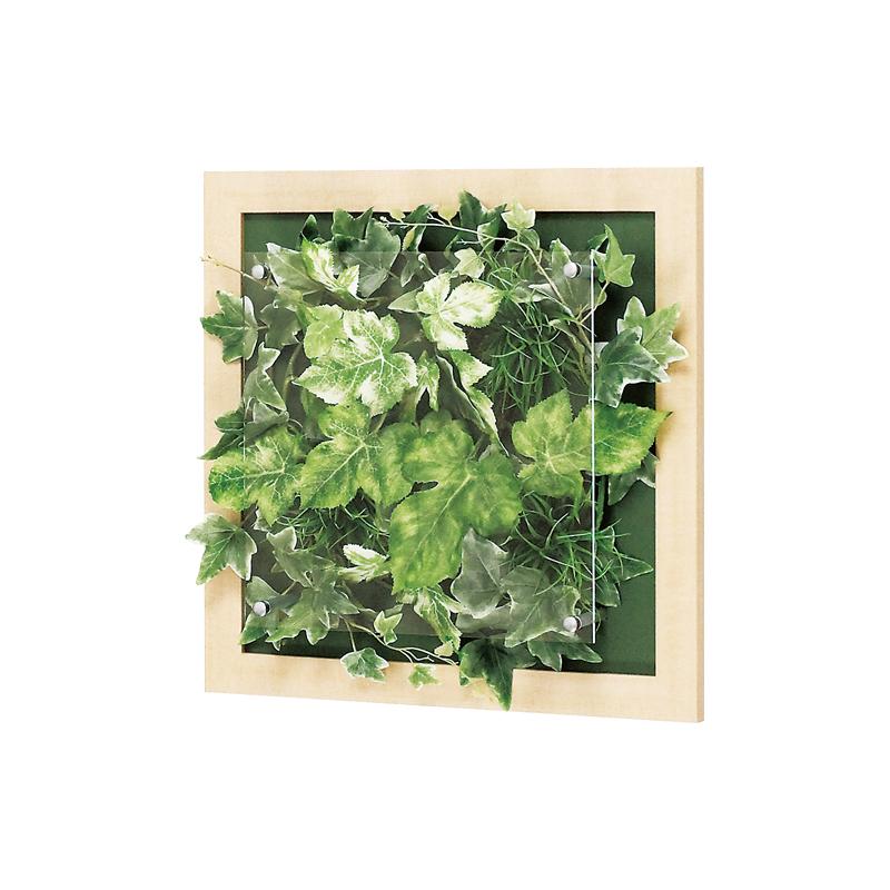 ベルク インテリアパネル インテリアデコ ウォールグリーン GR3342 室内 壁 インテリア おしゃれ 送料無料 緑 植物