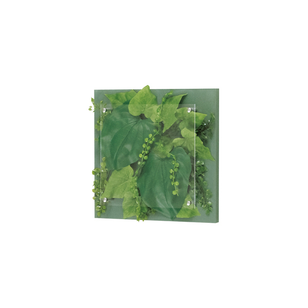 ベルク インテリアパネル インテリアデコ グリーン GR3414 室内 壁 インテリア おしゃれ 送料無料 緑 植物