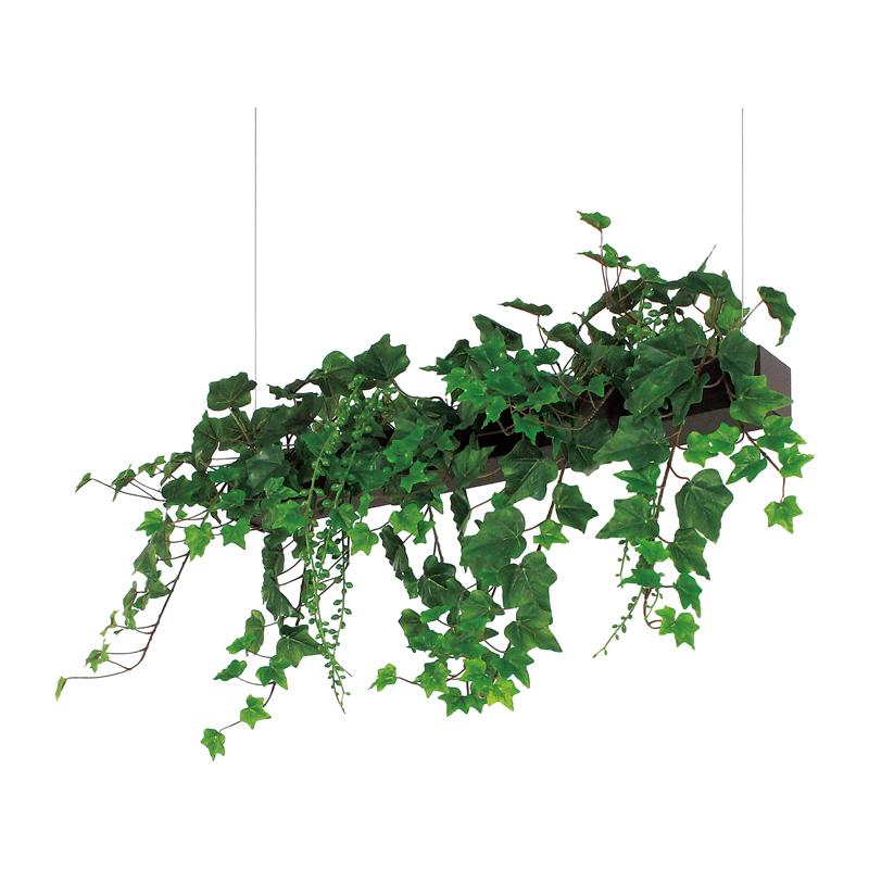 ベルク インテリアパネル グリーンポット デザインポット 吊り下げタイプ GR4066 室内 壁 インテリア おしゃれ 送料無料 緑 植物