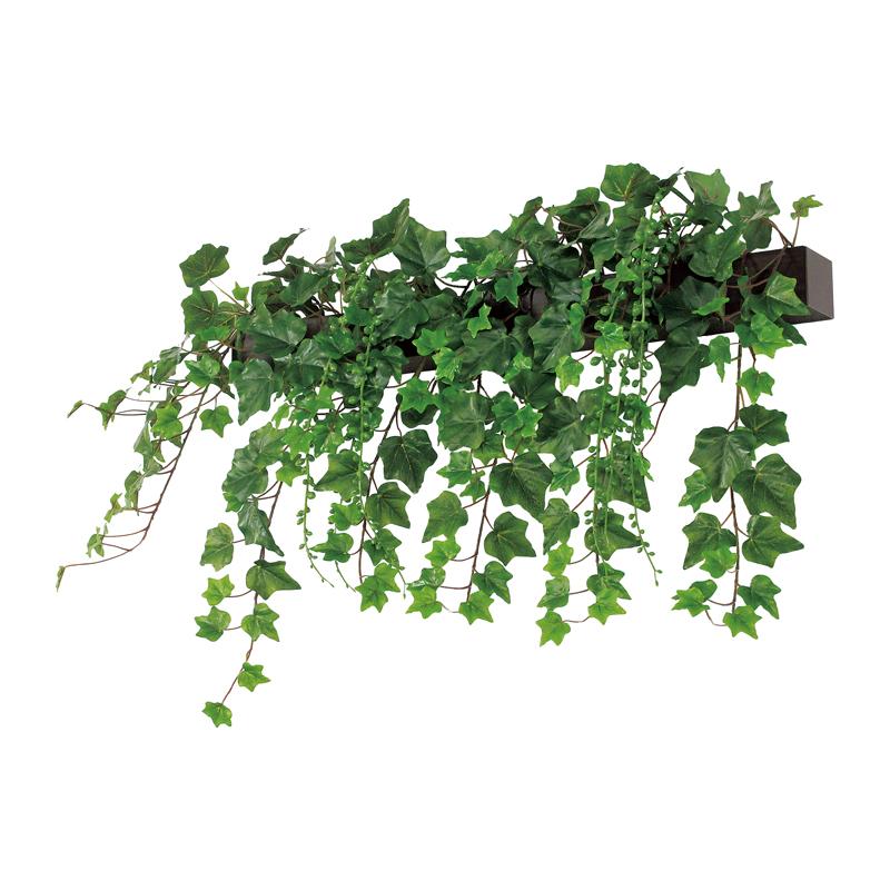 ベルク インテリアパネル グリーンポット デザインポット 壁付けタイプ GR4074 室内 壁 インテリア おしゃれ 送料無料 緑 植物