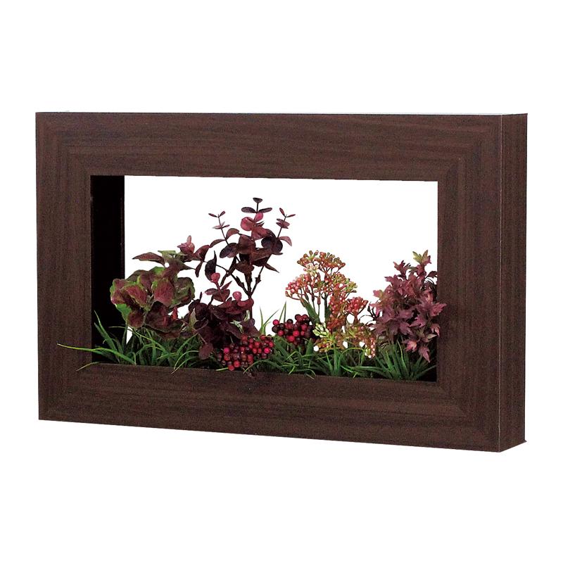 ベルク インテリアパネル グリーンポット デザインポット GR4026 室内 壁 インテリア おしゃれ 送料無料 緑 植物