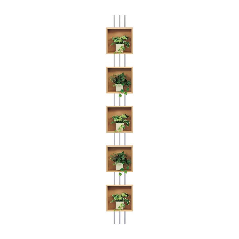 ベルク インテリアパネル グリーンポット 連接ポット GM4721