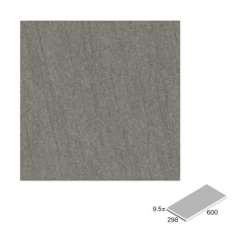 送料無料 TChic SWAN TILE タイル建材 屋内床壁・屋外床用 フロアタイル バサルト 300×600角平 BST-36-BST-6