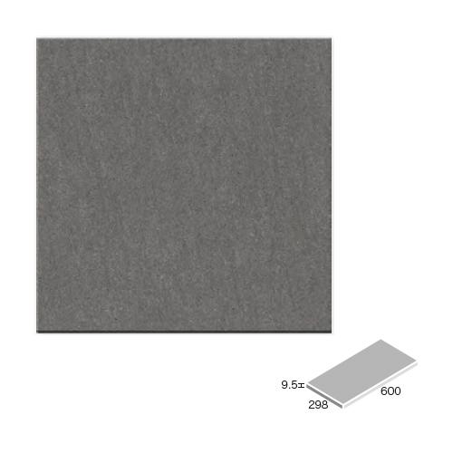 送料無料 TChic SWAN TILE タイル建材 屋内床壁・屋外床用 フロアタイル バサルト 300×600角平 BST-36-BST-9