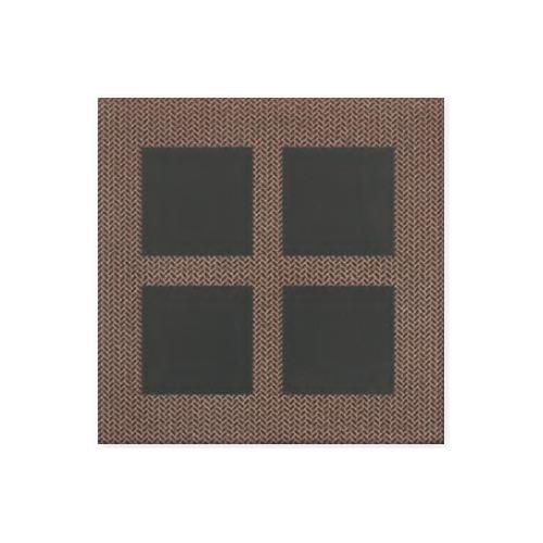 送料無料 TChic SWAN TILE タイル建材 屋内床壁用 フロアタイル 美濃小紋 300角平 PM-300/MK-2-D/B
