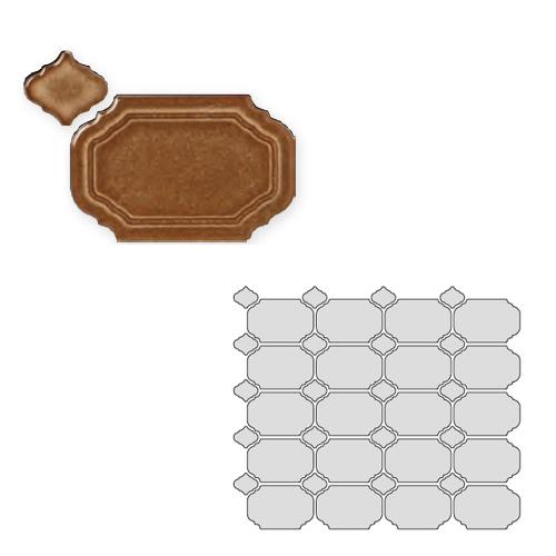送料無料 TChic SWAN TILE タイル建材 屋内壁用 インテリアタイル Reverie(レベリ) 八角乱形 REV-07