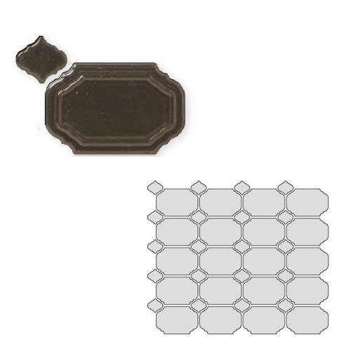 送料無料 TChic SWAN TILE タイル建材 屋内壁用 インテリアタイル Reverie(レベリ) 八角乱形 REV-12