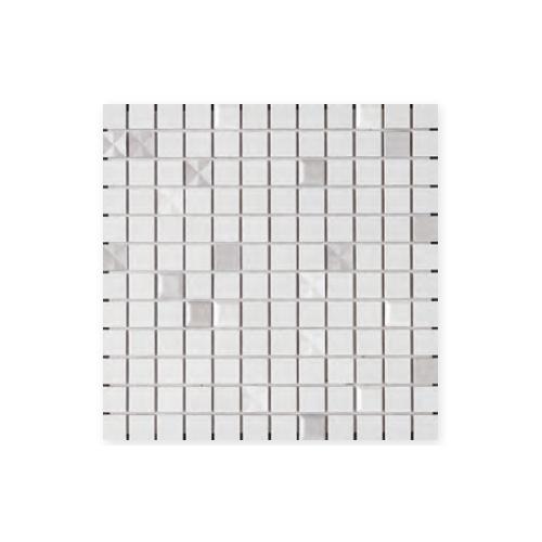送料無料 TChic SWAN TILE タイル建材 屋内壁用 インテリアタイル キラキラ星 25mm角平 KIR-07