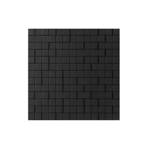 送料無料 TChic SWAN TILE タイル建材 屋内壁用 インテリアタイル Cubee(キューbee) 25mm角平 CUV-04 黒マット