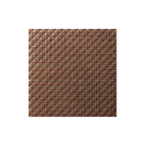 送料無料 TChic SWAN TILE タイル建材 屋内壁用 インテリアタイル Choco bee(チョコbee) 25mm角平 CC-25/03