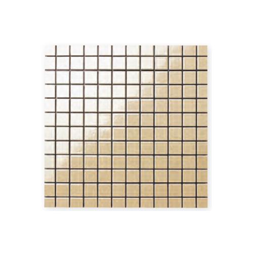 送料無料 TChic SWAN TILE タイル建材 屋内壁用 インテリアタイル pearly mosaic(パーリーモザイク) 25mm角平 PP-09