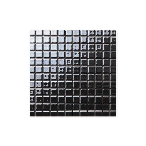 送料無料 TChic SWAN TILE タイル建材 屋内壁用 インテリアタイル pearly mosaic(パーリーモザイク) 25mm角平 PP-12