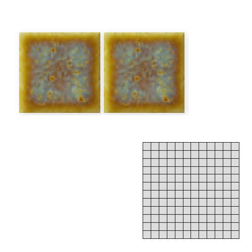 送料無料 TChic SWAN TILE タイル建材 屋内壁用 インテリアタイル preceraN(プリセラN) 25mm角平 25-307N