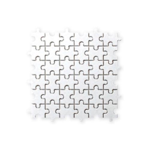送料無料 TChic SWAN TILE タイル建材 屋内壁用 インテリアタイル Puzzle(パズル) 異形モザイク平 PI-001