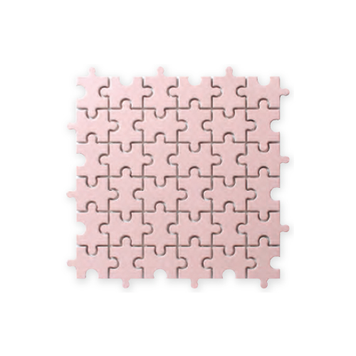 送料無料 TChic SWAN TILE タイル建材 屋内壁用 インテリアタイル Puzzle(パズル) 異形モザイク平 PI-003