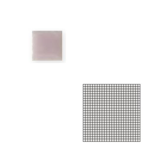 TChic モザイクアート10mm 10角 単色 10-B1 送料無料 インテリアタイル SWAN 公式ストア 屋内床壁用 TILE 初回限定 タイル建材