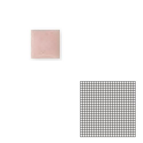 送料無料 TChic SWAN TILE タイル建材 屋内床壁用 インテリアタイル モザイクアート10mm 10角 単色 10-B2