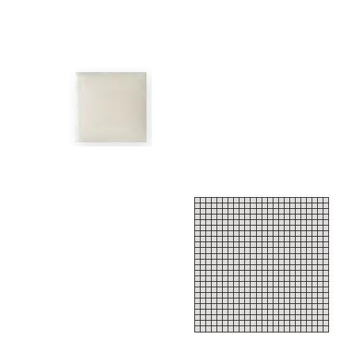 送料無料 Tchic タイル建材 屋内床壁用 インテリアタイル モザイクアート10mm 10角 単色 10-A3