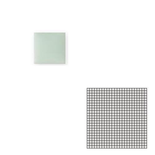 送料無料 TChic SWAN TILE タイル建材 屋内床壁用 インテリアタイル モザイクアート10mm 10角 単色 10-C5