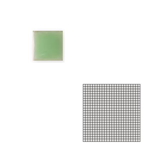 海外並行輸入正規品 TChic モザイクアート10mm 10角 単色 10-D5 送料無料 屋内床壁用 TILE タイル建材 インテリアタイル SWAN 店内全品対象