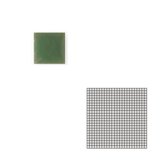 送料無料 TChic SWAN TILE タイル建材 屋内床壁用 インテリアタイル モザイクアート10mm 10角 単色 10-C6