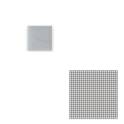送料無料 TChic SWAN TILE タイル建材 屋内床壁用 インテリアタイル モザイクアート10mm 10角 単色 10-A7