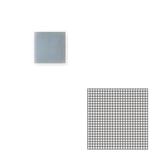 送料無料 TChic SWAN TILE タイル建材 屋内床壁用 インテリアタイル モザイクアート10mm 10角 単色 10-B7