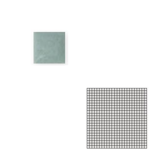送料無料 TChic SWAN TILE タイル建材 屋内床壁用 インテリアタイル モザイクアート10mm 10角 単色 10-A9