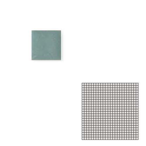 送料無料 Tchic タイル建材 屋内床壁用 インテリアタイル モザイクアート10mm 10角 単色 10-B9