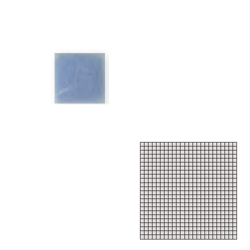 TChic 新品 国内在庫 モザイクアート10mm 10角 単色 10-C10 送料無料 インテリアタイル 屋内床壁用 SWAN TILE タイル建材