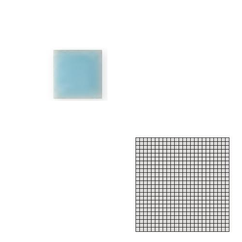 TChic モザイクアート10mm 10角 メーカー直送 単色 10-B11 送料無料 上品 TILE 屋内床壁用 タイル建材 SWAN インテリアタイル