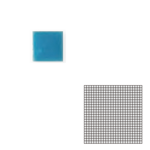 送料無料 TChic SWAN TILE タイル建材 屋内床壁用 インテリアタイル モザイクアート10mm 10角 単色 10-E11