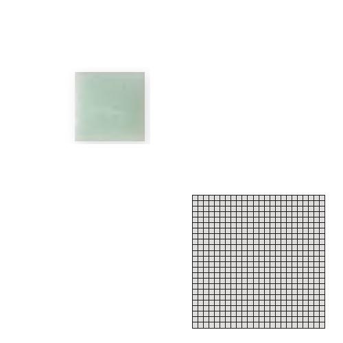 送料無料 TChic SWAN TILE タイル建材 屋内床壁用 インテリアタイル モザイクアート10mm 10角 単色 10-B12